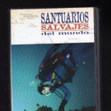 Cine: SANTUARIOS SALVAJES DEL MUNDO (CINTA VHS Nº 12: GRAN BARRERA DE CORAL) - DURACIÓN: 30 MINUTOS -. Lote 159655270