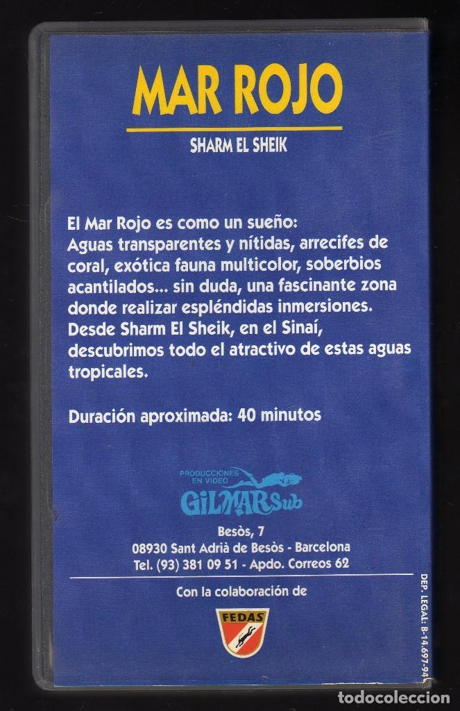 Cine: EL MAR, ACUARIO DEL MUNDO (Cinta Vhs Nº 3: Mar Rojo, Sharm El Sheik) - Duración: 40 Minutos - - Foto 2 - 159656962