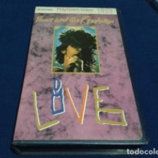 Cine: VHS ( PRINCE AND THE REVOLUTION LIVE ) 1985 POLYGRAM VIDEO FUNK / SOUL, POP, STAGE & SCREEN POP ROCK. Lote 159900770