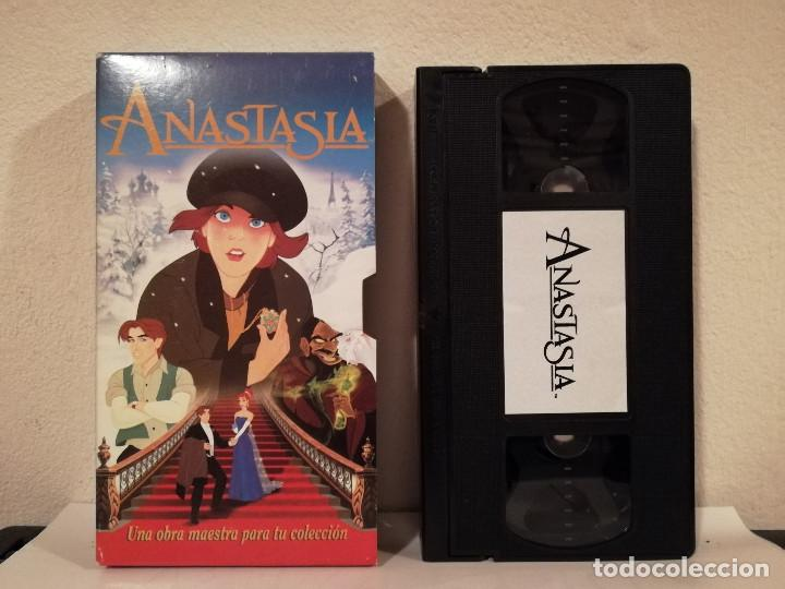 EDICION VHS CAJA CARTON - ANASTASIA - DIBUJOS ANIMADOS (Cine - Películas - VHS)