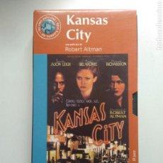Cine: VHS KANSAS CITY. Lote 160554454