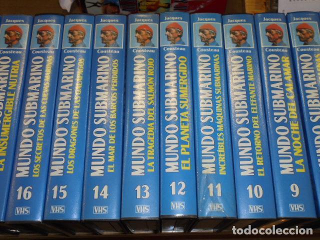 Cine: VHS MUNDO SUBMARINO COMPLETA 36 CINTAS - JACK COUSTEAU - Foto 3 - 160626906