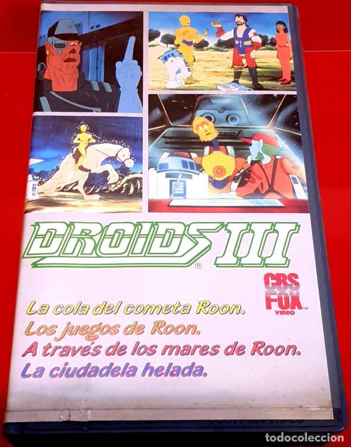 STAR WARS: DROIDS III (1985I) - LUCASFILM ANIMACIÓN - CBS FOX (Cine - Películas - VHS)