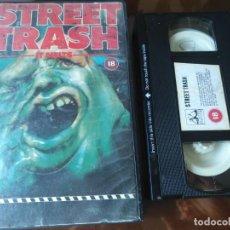 Cine: STREET TRASH V.O VHS 1EDICIÓN. Lote 160987938