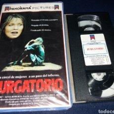 Cinema: PURGATORIO- VHS- TANYA ROBERTS- CARCEL DE MUJERES. Lote 161149917