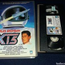 Cine: X15- VHS- CHARLES BRONSON. Lote 161158445