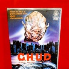 Cine: C.H.U.D - CANÍBALES HUMANOIDES (1984) - 1ª EDIC. Lote 161182298