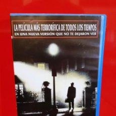 Cine: EL EXORCISTA - EL MONTAJE DEL DIRECTOR (EDIC. CAJA GRANDE VIDEOCLUB). Lote 161182378