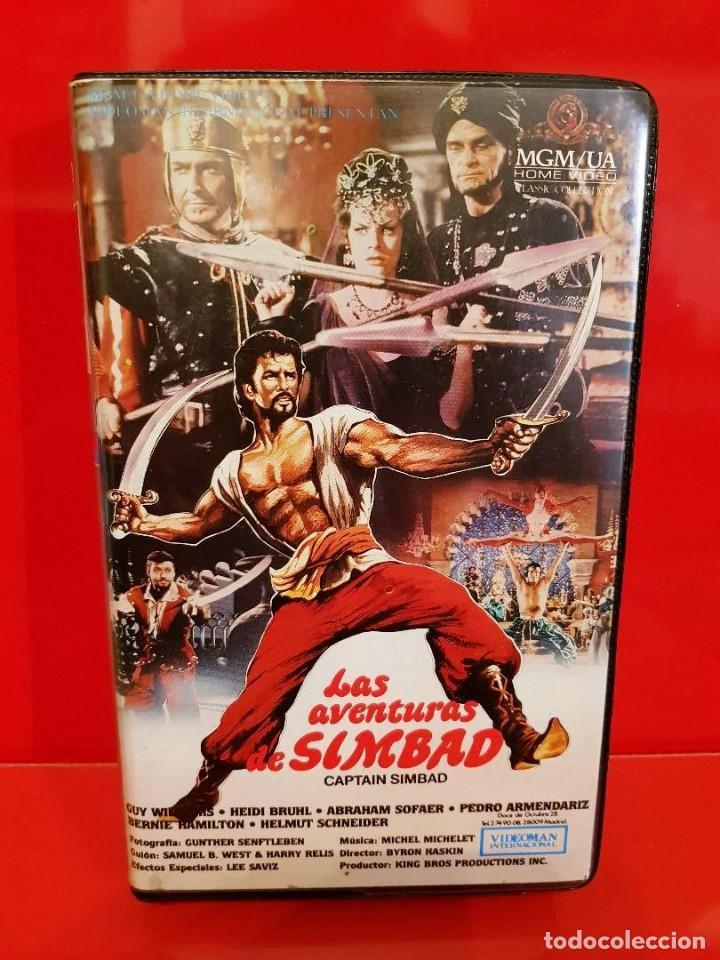 LAS AVENTURAS DE SIMBAD (1963) - CAPTAIN SINDBAD (Cine - Películas - VHS)