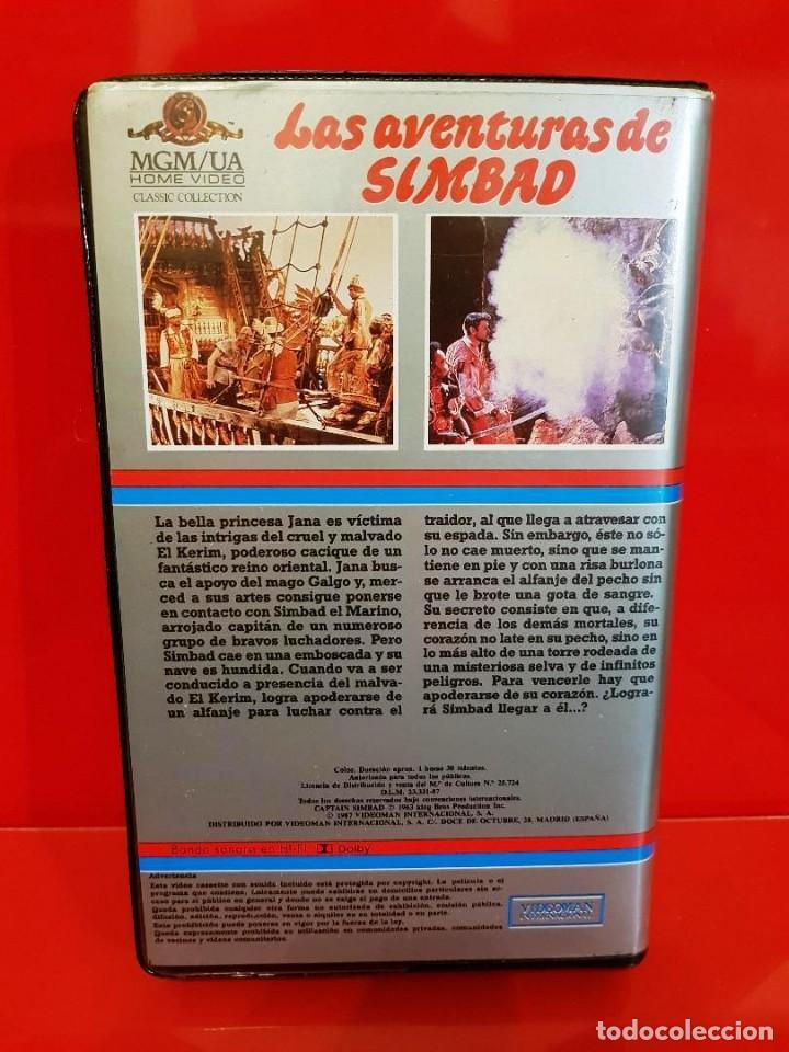 Cine: LAS AVENTURAS DE SIMBAD (1963) - Captain Sindbad - Foto 2 - 161303610