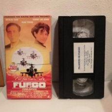 Cine: EDICION ORIGINAL VHS - CARTON - PAJAROS DE FUEGO - NICOLAS CAGE - SEAN YOUNG - CINE BELICO. Lote 161305970