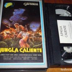 Cine: JUNGLA CALIENTE - VHS. Lote 161318738