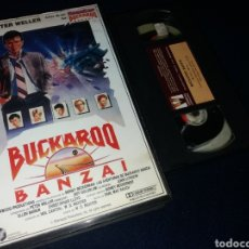 Cine: BUCKAROO BANZAI- VHS- CHRISTOPHER LLOYD- PETER WELLER EL DE ROBOCOP. Lote 161352086
