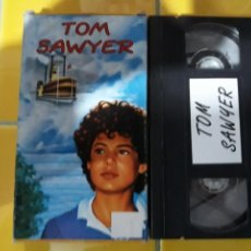 Cine: VHS- TOM SAWYER- DIBUJOS ANIMADOS. Lote 161357184
