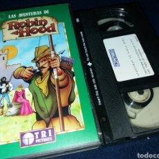 Cine: LAS AVENTURAS DE ROBIN HOOD- VHS. Lote 161447606