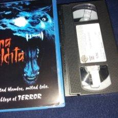 Cine: LUNA MALDITA- VHS- DIR: ERIC RED-TERROR HOMBRES LOBO. Lote 161566501