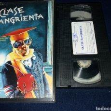 Cine: CLASE SANGRIENTA- VHS- BRAD PITT- TERROR. Lote 161571988
