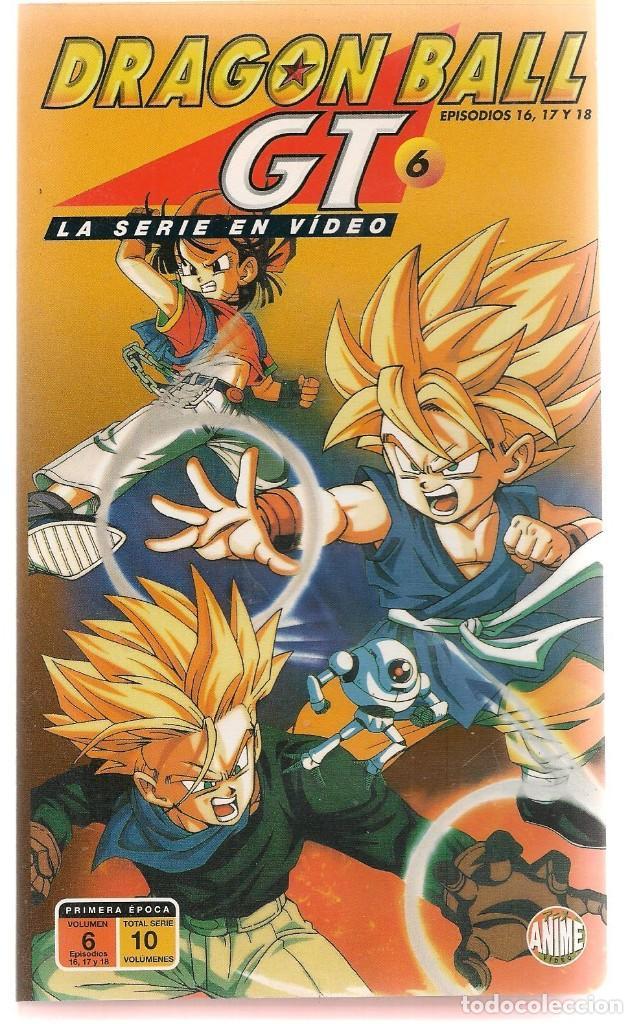 DRAGON BALL GT. LA SERIE EN VIDEO. VHS. Nº 6. EPISODIOS: 16, 17 Y 18. (RF.MA)Ñ (Cine - Películas - VHS)