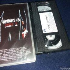 Cine: VIERNES 13 - 2 PARTE- VHS- EDICION VENTA DIRECTA. Lote 162009882