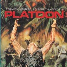 Cine: 10164 -VHS: PLATOON, DE OLIVER STONE. Lote 162087910