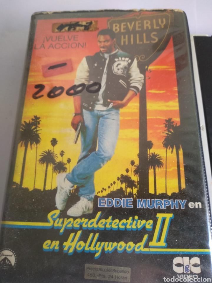 Cine: VHS-Superdetective en Hollywood 2, original 1 edificio videoclub - Foto 2 - 162177157