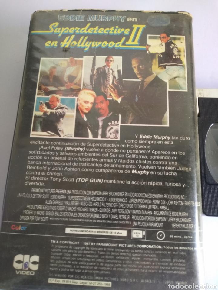 Cine: VHS-Superdetective en Hollywood 2, original 1 edificio videoclub - Foto 4 - 162177157