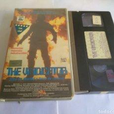 Cine: VHS- THE VINDICATDA, ORIGINAL VIDEOCLUB. Lote 162181293