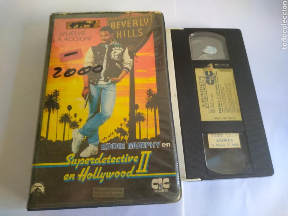 VHS-SUPERDETECTIVE EN HOLLYWOOD 2, ORIGINAL 1 EDIFICIO VIDEOCLUB (Cine - Películas - VHS)