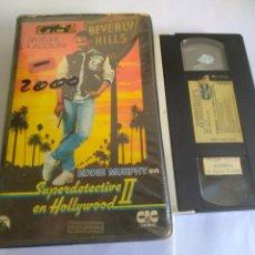 Cine: VHS-SUPERDETECTIVE EN HOLLYWOOD 2, ORIGINAL 1 EDIFICIO VIDEOCLUB. Lote 162177157