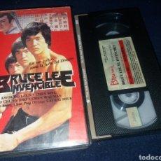Cine: BRUCE LEE EL INVENCIBLE- VHS- ARTES MARCIALES. Lote 162322393