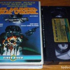 Cine: EL MUNDO QUE VIENE . JACK PALANCE . SCIFI - VHS. Lote 162473178