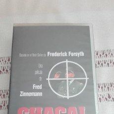 Cine: CHACAL PRECINTADO VHS VER MÁS VHS A LA VENTA. Lote 162568954