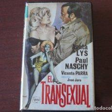Cine: EL TRANSEXUAL / VHS - PAUL NASCHY - AGATA LYS - VICENTE PARRA - BUEN ESTADO. Lote 162489754