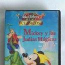 Cine: MICKEY Y LAS JUDÍAS MÁGICAS VHS MINI CLÁSICOS DISNEY. Lote 163420734