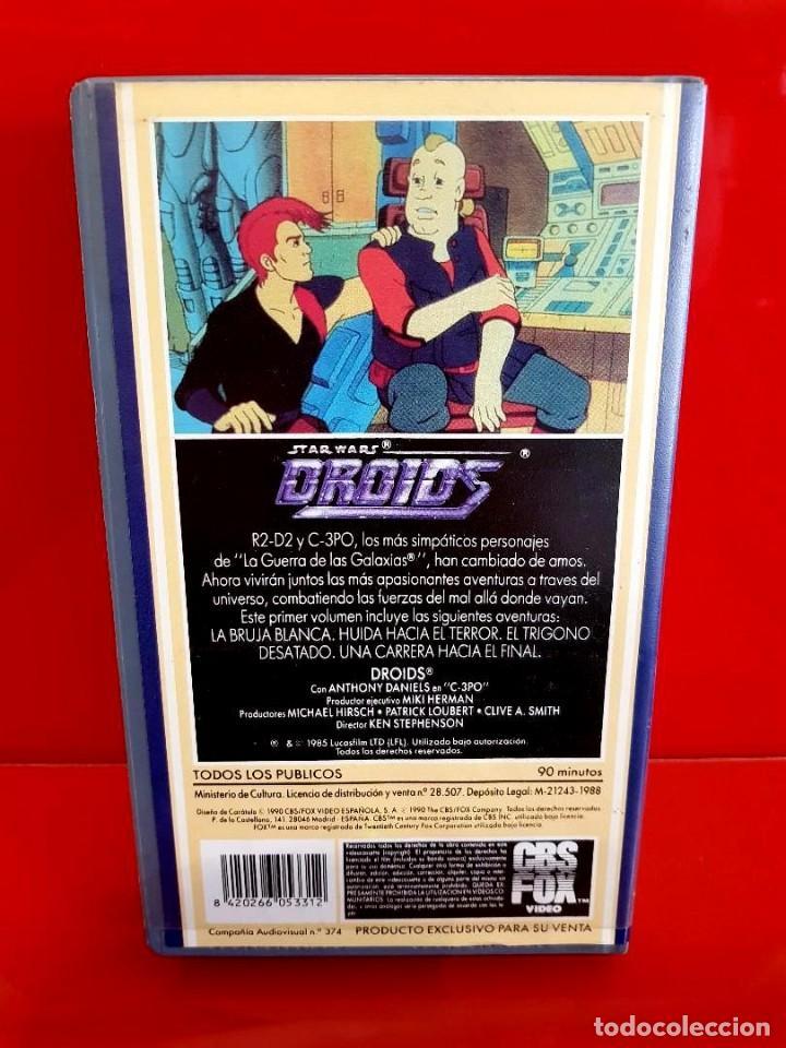 Cine: STAR WARS: DROIDS I (1985I) - LUCASFILM ANIMACIÓN - CBS Fox - Foto 3 - 163440502