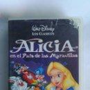 Cine: ALICIA EN EL PAÍS DE LAS MARAVILLAS VHS DISNEY. Lote 163479485