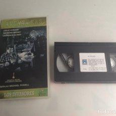 Cine: VHS LOS INVASORES, LESLIE HOWARD - VHS AVENTURAS. Lote 163511226