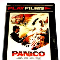 Cine: PANICO (1982) - TONINO RICCI DAVID WARBECK JANET AGREN ROBERTO RICCI JOSÉ LIFANTE VHS. Lote 163631842
