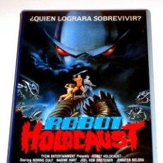 Cine: ROBOT HOLOCAUST (1986) - TIM KINCAID NORRIS CULF NADINE HARSTEIN J. BUZZ VON ORNSTEINER VHS. Lote 163631886