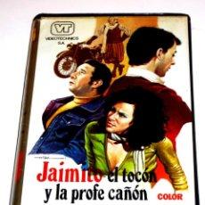 Cine: JAIMITO EL TOCON Y LA PROFE CAÑON (1976) - MARIANO LAURENTI ALVARO VITALI FEMI BENUSSI VHS. Lote 163631894
