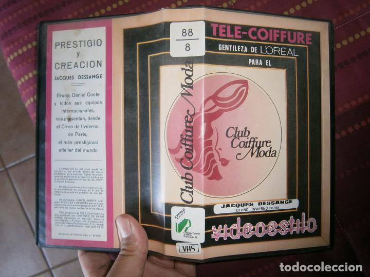 JACQUES DESSANGES,,UNICA EN TC (Cine - Películas - VHS)