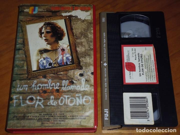 UN HOMBRE LLAMADO FLOR DE OTOÑO - VHS (Cine - Películas - VHS)