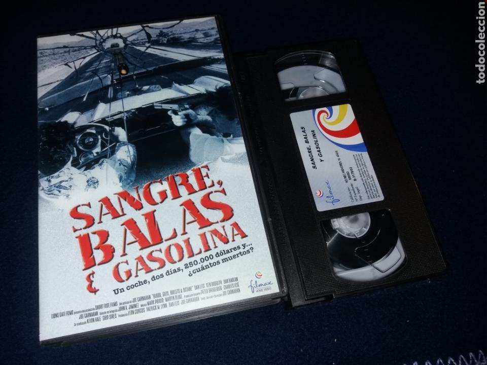 SANGRE BALAS Y GASOLINA- VHS- 1998- JOE CARNAHAN (Cine - Películas - VHS)