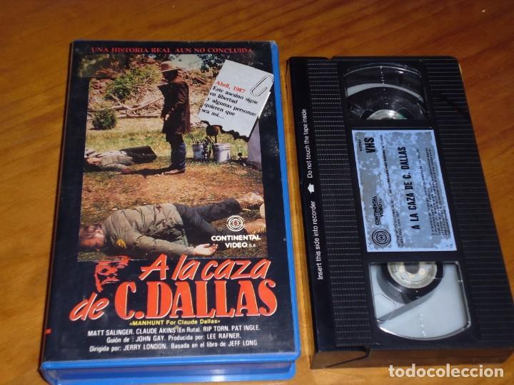 A LA CAZA DE C. DALLAS . VHS - PEDIDO MINIMO 6 EUROS (Cine - Películas - VHS)