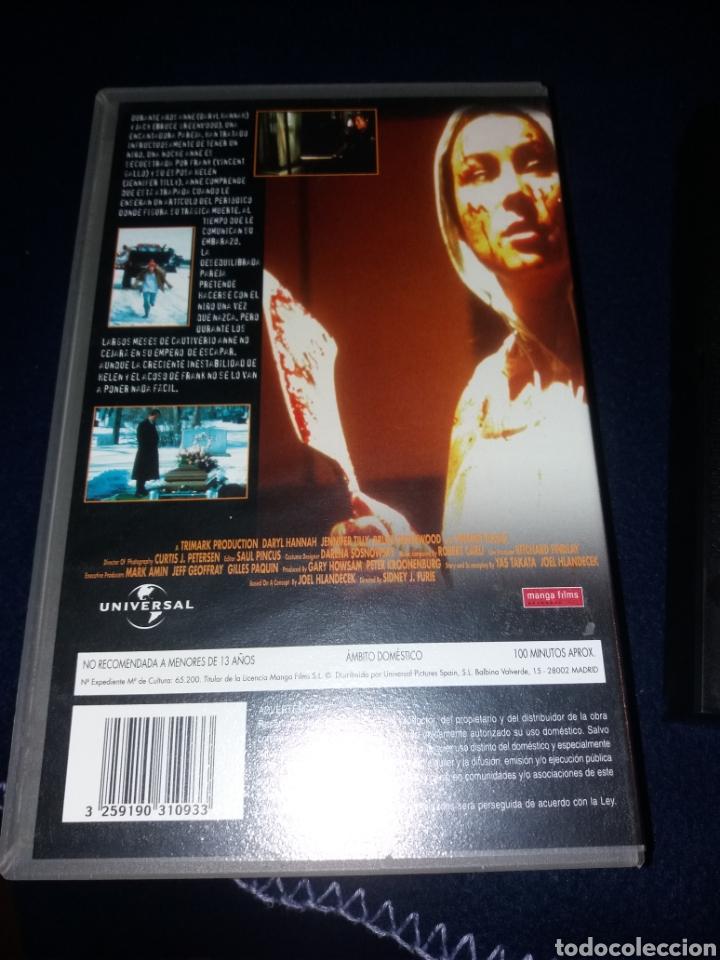 Cine: Cord- atada- vhs- daryl hannah- jennifer tilly- Secuestros / Desapariciones - Foto 2 - 164441749