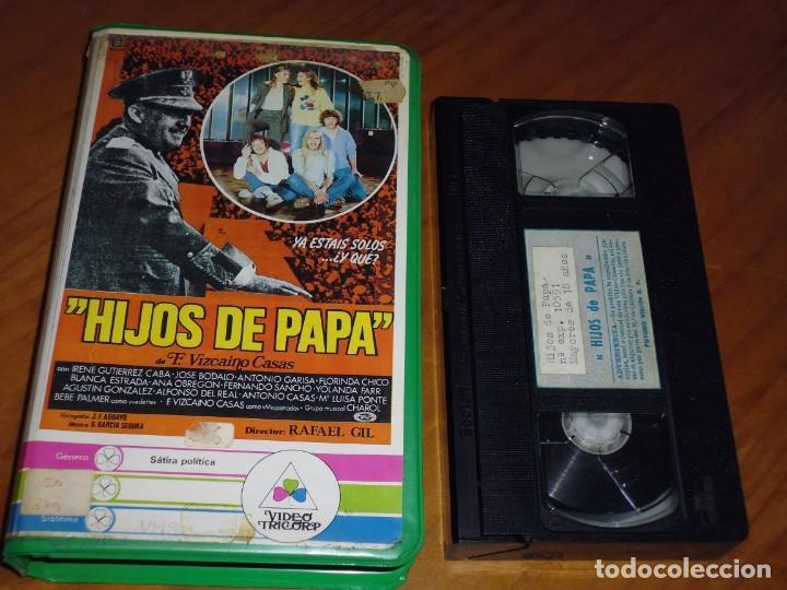 HIJOS DE PAPA - RAFAEL GIL - COMEDIA ESPAÑA - . 1ED CAJA GRANDE (Cine - Películas - VHS)