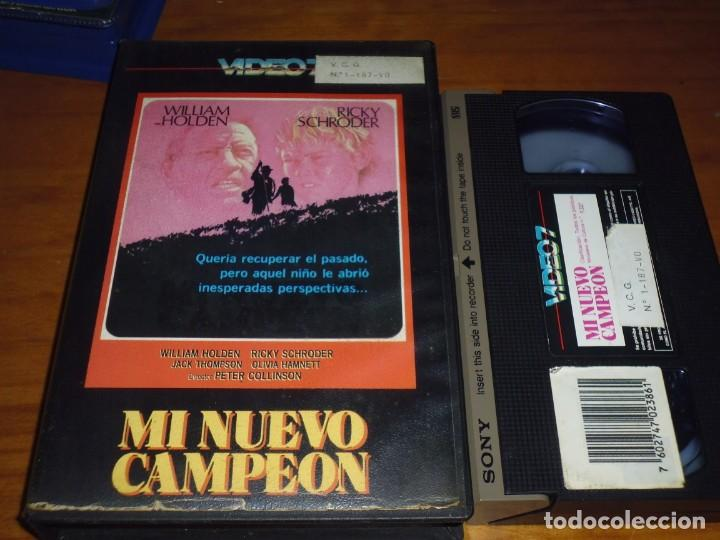MI NUEVO CAMPEON . VHS - PEDIDO MINIMO 6 EUROS (Cine - Películas - VHS)