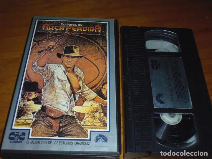 EN BUSCA DEL ARCA PERDIDA . VHS - PEDIDO MINIMO 6 EUROS (Cine - Películas - VHS)
