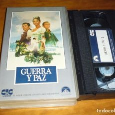 Cine: GUERRA Y PAZ . VHS - PEDIDO MINIMO 6 EUROS. Lote 164460646