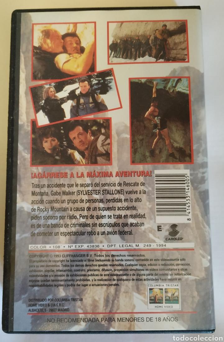 Cine: VHS Máximo Riesgo (1993) Sylvester Stallone - Foto 2 - 164528185
